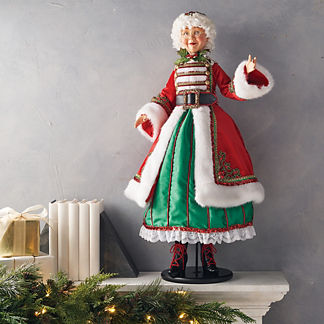 Mrs. Claus Is Coming To Town Figure
