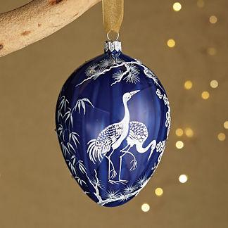 Noel Bleu Jeweled Ornament