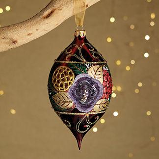 Regal Glee Jeweled Ornament