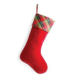 A Wonderful Christmas Velvet Stocking