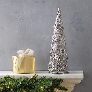 Rhinestone & Gem Decorative Tree