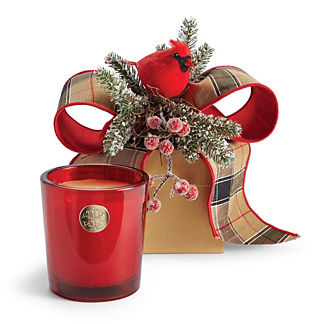 Lux 14oz Candle in Holiday Gift Box Aspen