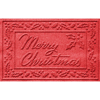Water and Dirt Shield™ Merry Christmas Door Mat