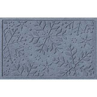 Water and Dirt Shield™ Snowflakes Mat