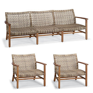 Isola Sofa Lounge Set in Natural