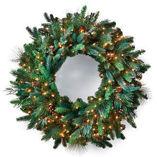 Majestic Pre-lit Wreath