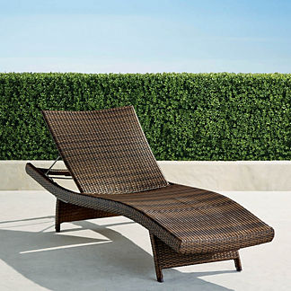 Balencia Bronze Chaise Lounges, Set of Two