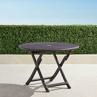 Cafe Round Folding Table