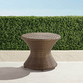 Balencia Bronze Round Side Table