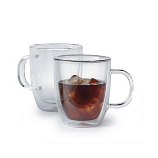 Bodum 15 oz. Double Wall Jumbo Mugs, Set of Two