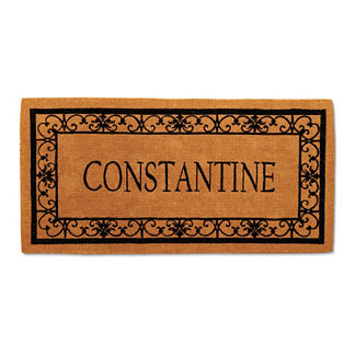 Wayland Last Name Personalized Coco Door Mat