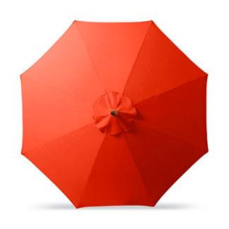 Outdoor Market Umbrella in Sunbrella Melon