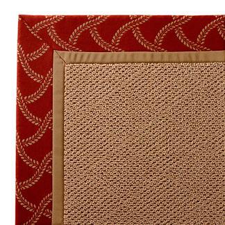 Parkdale Indoor/Outdoor Rug in Lattice Sway Brick/Wheat