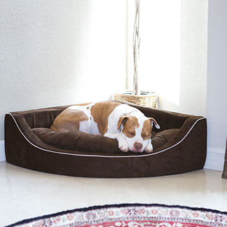 Animals Matter &#174 Corner Lounger Pet Bed