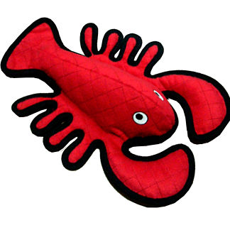 Tuffy Lobster Dog Toy