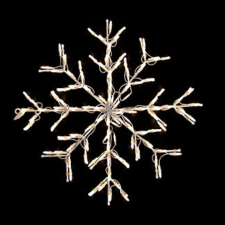 Lighted Snowflake Oversized Display