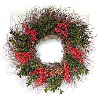 Nordic Holiday Wreath