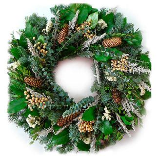 Fresh Holiday Splendor Wreath