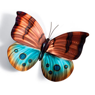 Brilliant Butterflies Wall Art by Copper Art