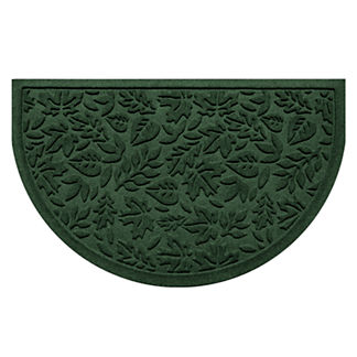 Water & Dirt Shield™ Fall Day Half-round Door Mat
