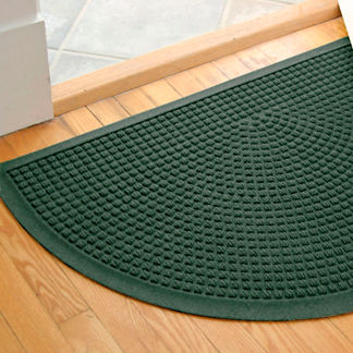Water & Dirt Shield Squares Half-round Mat