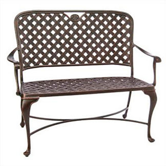 Provence Bench with Cushion