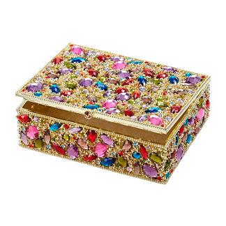 Dominique Crystal Keepsake Box