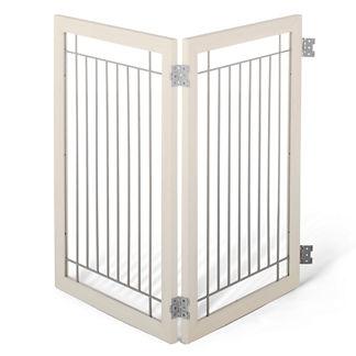 Two-panel Hardwood Pet Gate Extension