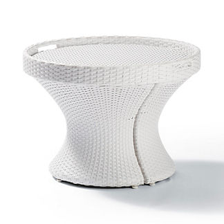 Baleares White 3-pc. Side Table