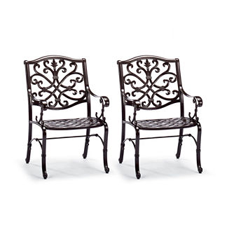 Orleans Set of Two Dining Arm Chairs