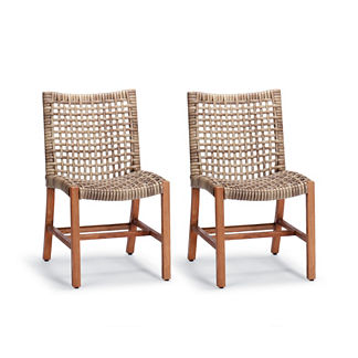 Isola Set of Two Dining Side Chairs