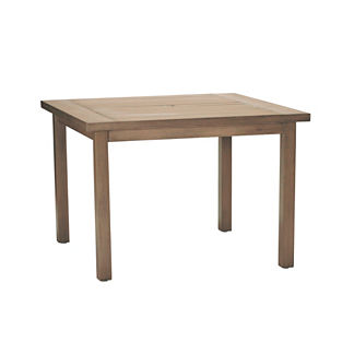 Club Square Dining Table by Summer Classics