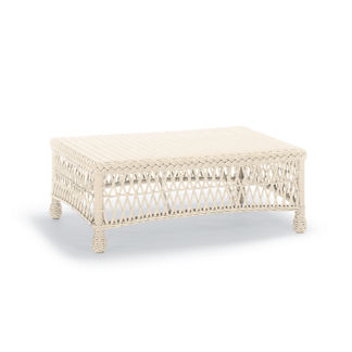 Hampton Coffee Table in Ivory Finish