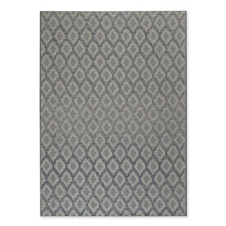 Leuven Diamonds Indoor/Outdoor Area Rug