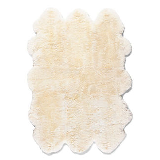 Natural Sheepskin Area Rug