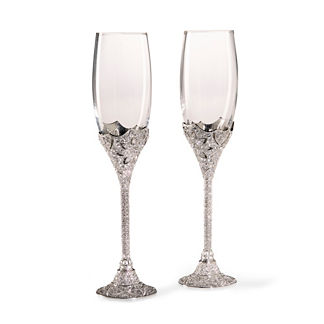 Olivia Riegel Windsor Champagne Flutes, Set of Two