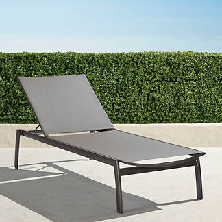 Resort Newport Aluminum Chaises, set of two