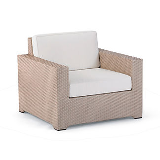Palermo Lounge Chair with Cushions in Linen Finish, Special Order