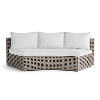 Pasadena Sofa with Cushions in Gray Finish, Special Order