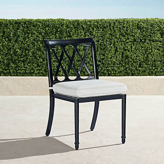Grayson Dining Side Chairs in Black Finish, Set of Two