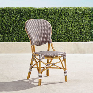 Set of Two Paris Bistro Side Chairs