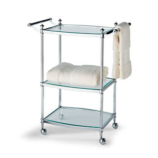 Belmont 3-Tier Rolling Bath Cart