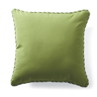 Outdoor Square Pillow with Cording