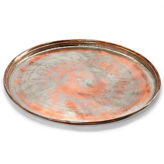 Antique Copper Tray