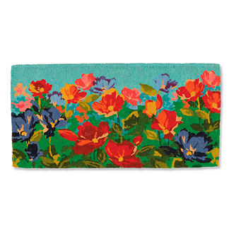 Wildflowers Coco Door Mat