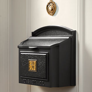 Monogrammed Wall-mount Mailbox
