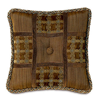 Privet Cocoa Patchwork Pillow