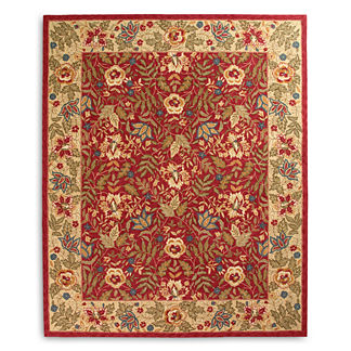 Brianna Hook Wool Area Rug
