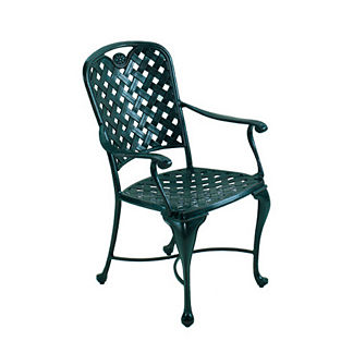Provence Dining Arm Chair with Cushion by Summer Classics