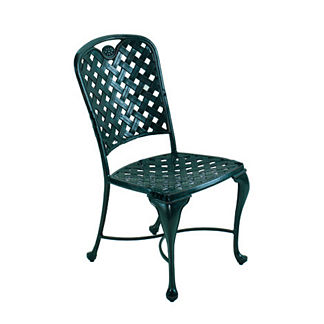 Provence Dining Side Chair with Cushion by Summer Classics